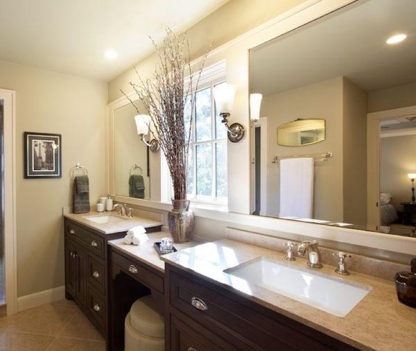 Einbau-Waschbecken mit Unterschrank, Waschtisch in Stein-Optik - badezimmer einbau