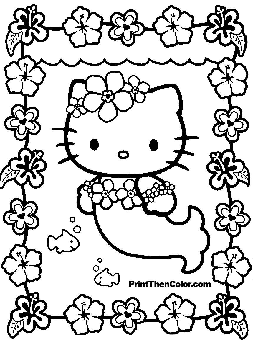 Get the latest free hello kitty coloring sheet images favorite coloring pages to print online