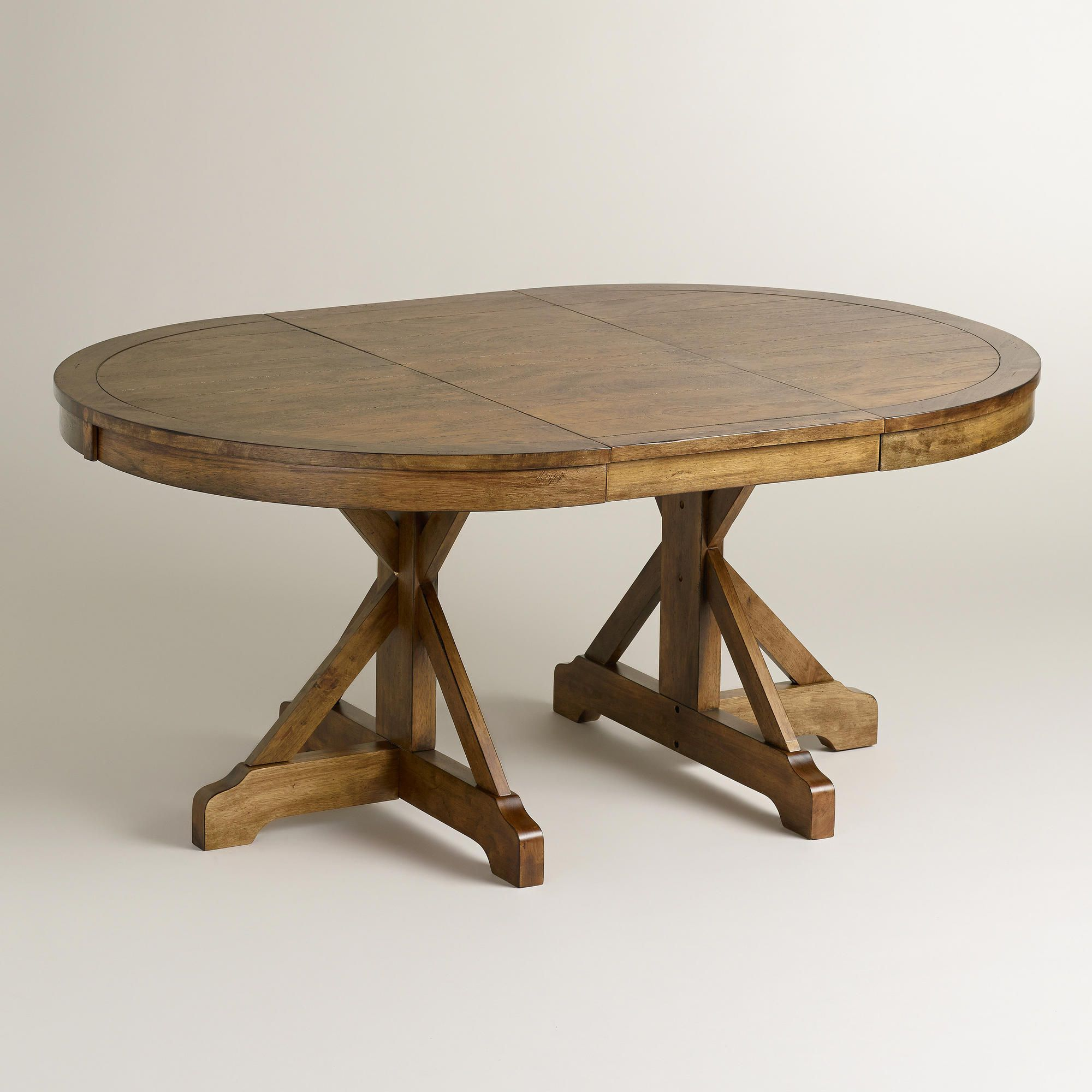Extension Table Round To Oval X Base Extension Table Extensions