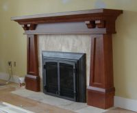 Arts and Crafts Mantels | Craftsman Fireplace Mantel ...