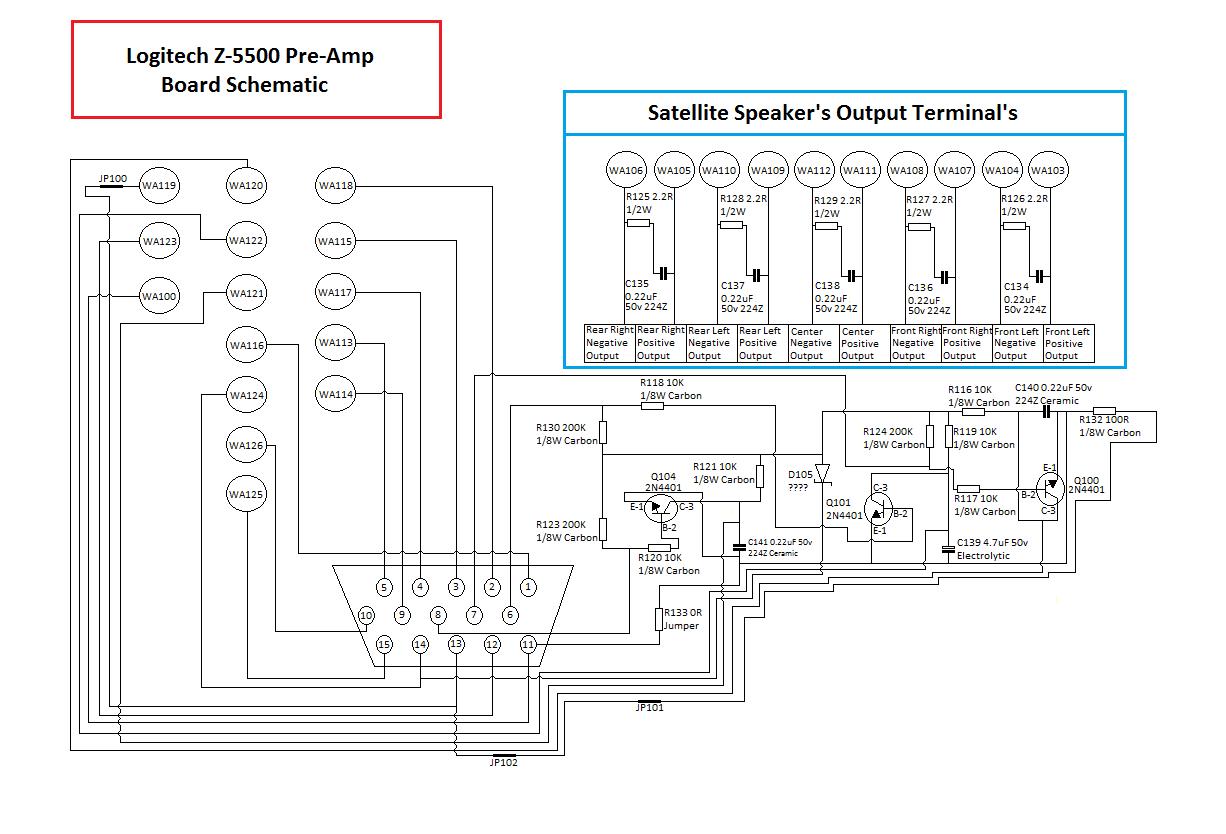 creative computer speakers wiring diagram