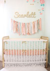 Design Reveal: Vintage Lace Nursery | Jenny lind crib ...