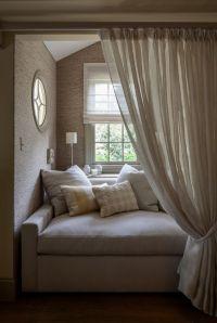 window bench, window seat, pillows, cushions, window ...