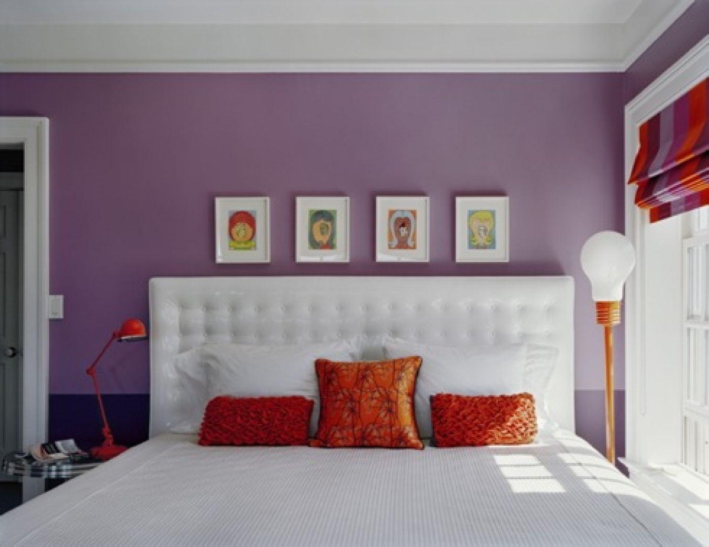 Chambre violet orange for teenage girls simple purple bedroom idp interior