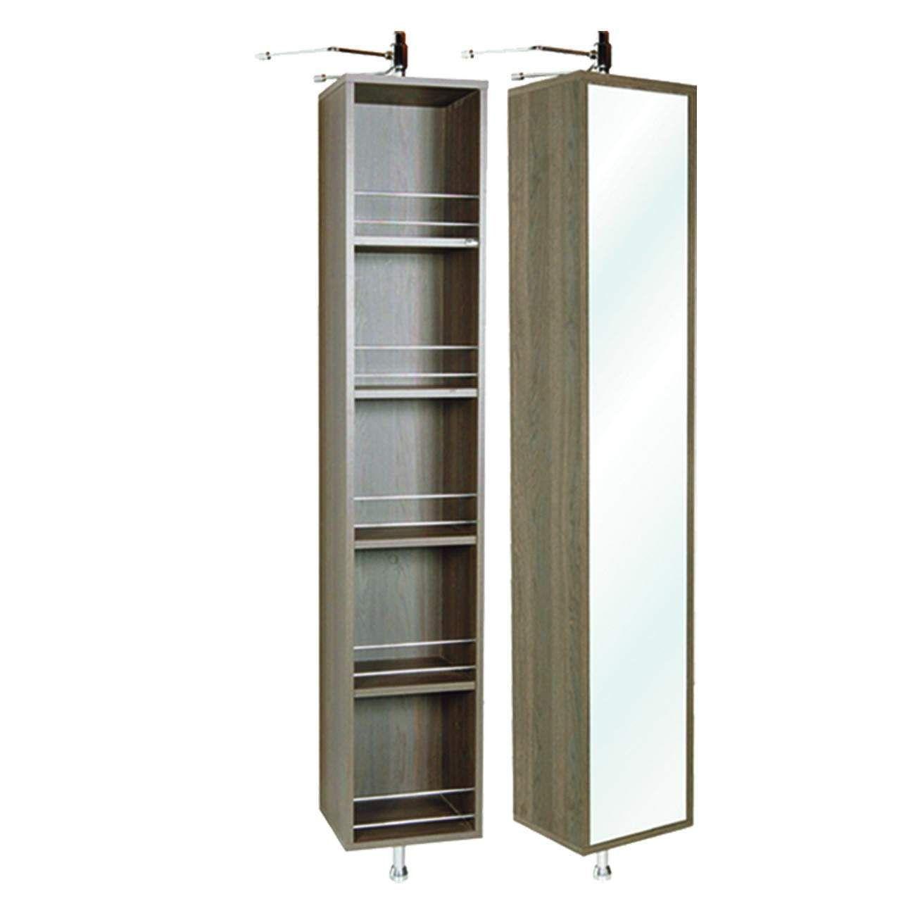 Rotating bath mirror with shelf google search