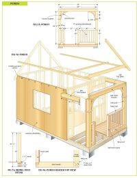free wood cabin plans | Creative | Pinterest | Wood cabins ...