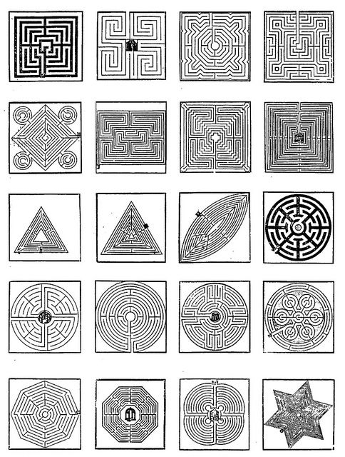FOUR343 - Designs of labyrinth-gardens Labyrinth garden, Garden - labyrinth garden design