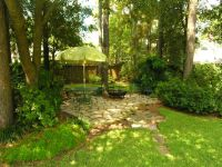 flagstone under trees | View of Flagstone Patio under ...