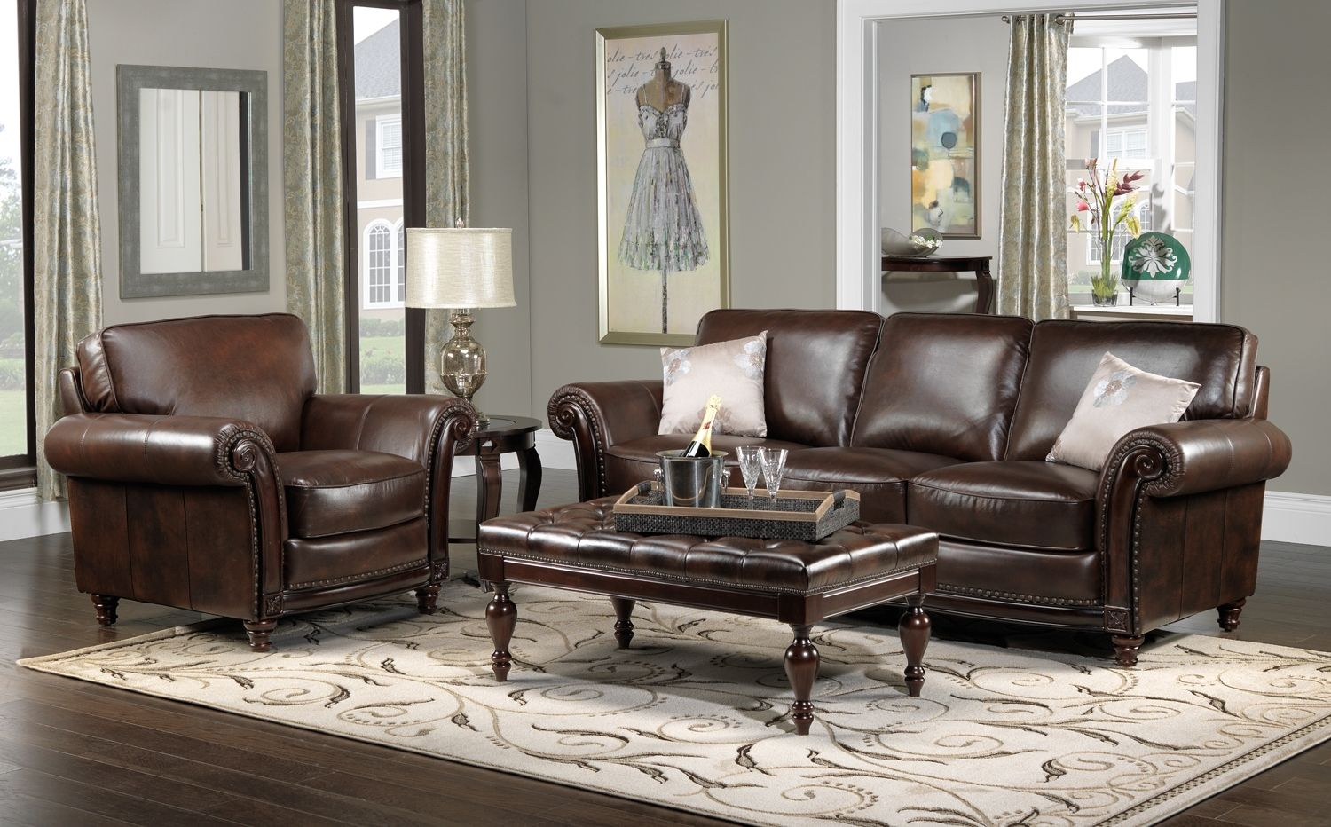 Leather Furniture Decorating Ideas Dream House Decor Ideas For Brown Leather Furniture Gngkxz