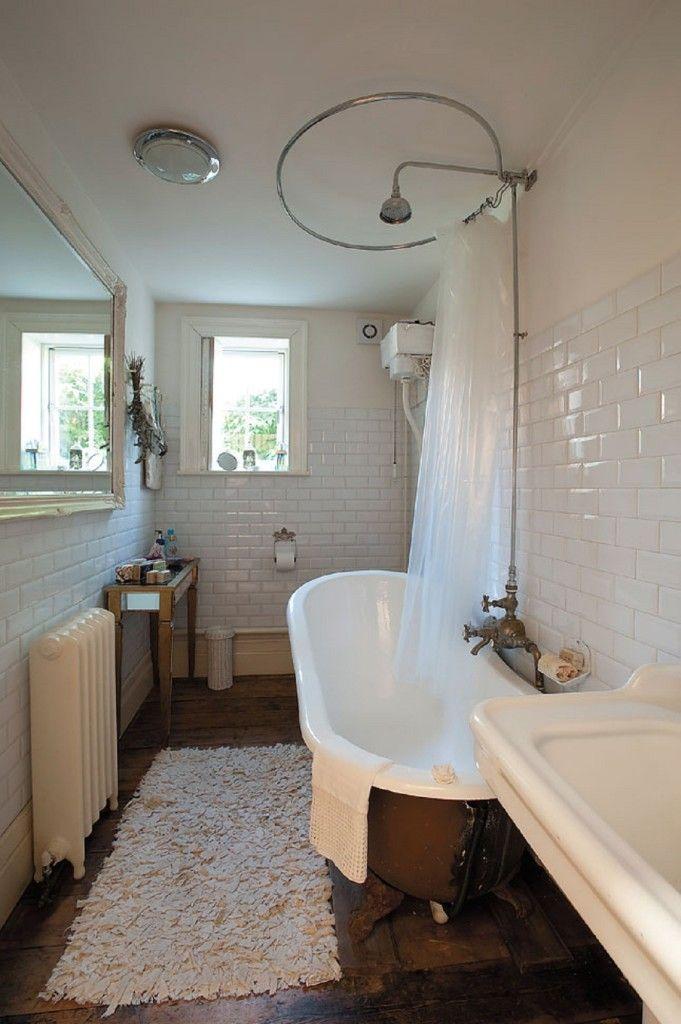 Bathroom, Roll Top Bath Taps Standing Victorian Bath Ideas - narrow bathroom ideas