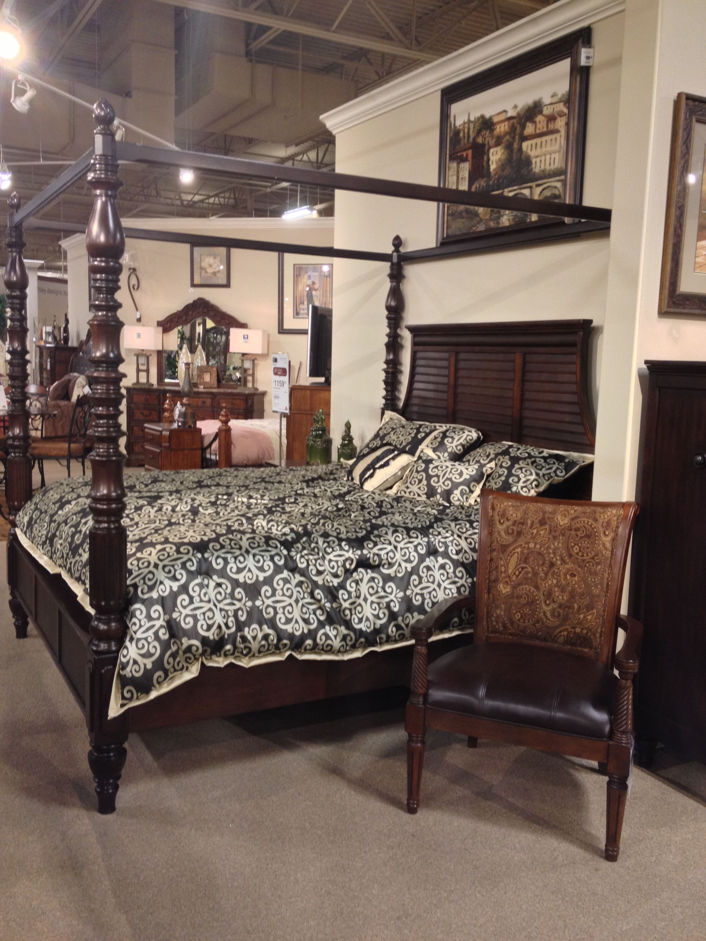 ... Key Town King Queen Poster Bed Ashley Furniture In Tricities. Download