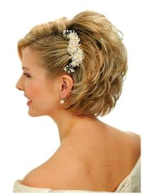 Updo Wedding Hairstyles : Wedding Hairstyles Short Hair ...