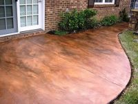 DIY - How to Acid Stain a Concrete Patio | Acid stain ...