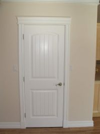 Casing Door & \u201con This Door Is Comprised Of Three