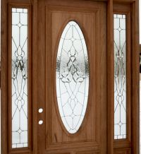 front door with glass | Exterior Door with Sidelights ...