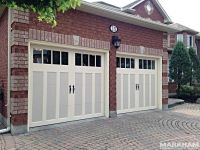 Clopay Coachman Collection insulated steel carriage house ...