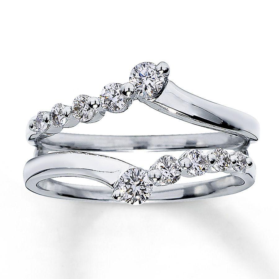 wedding ring wrap engagement ring enhancers Google Search