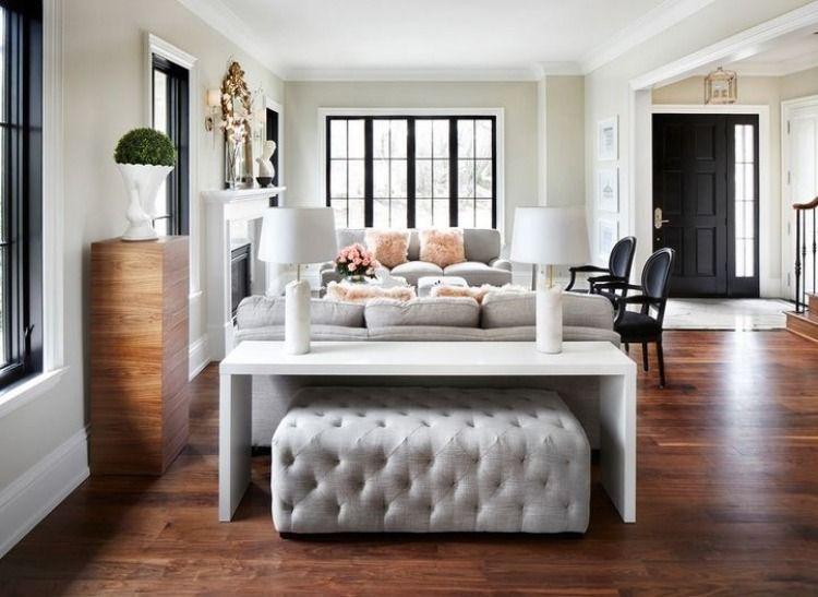 helle Farben für Möbel und Wände und schön brauner Holzboden - farben fur wande