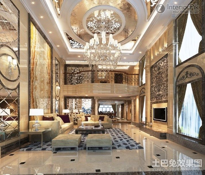 Home Design Bee luxury European ceiling for modern home interior - luxury home designs