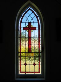 stained glass patterns for crosses | stained glass cross ...