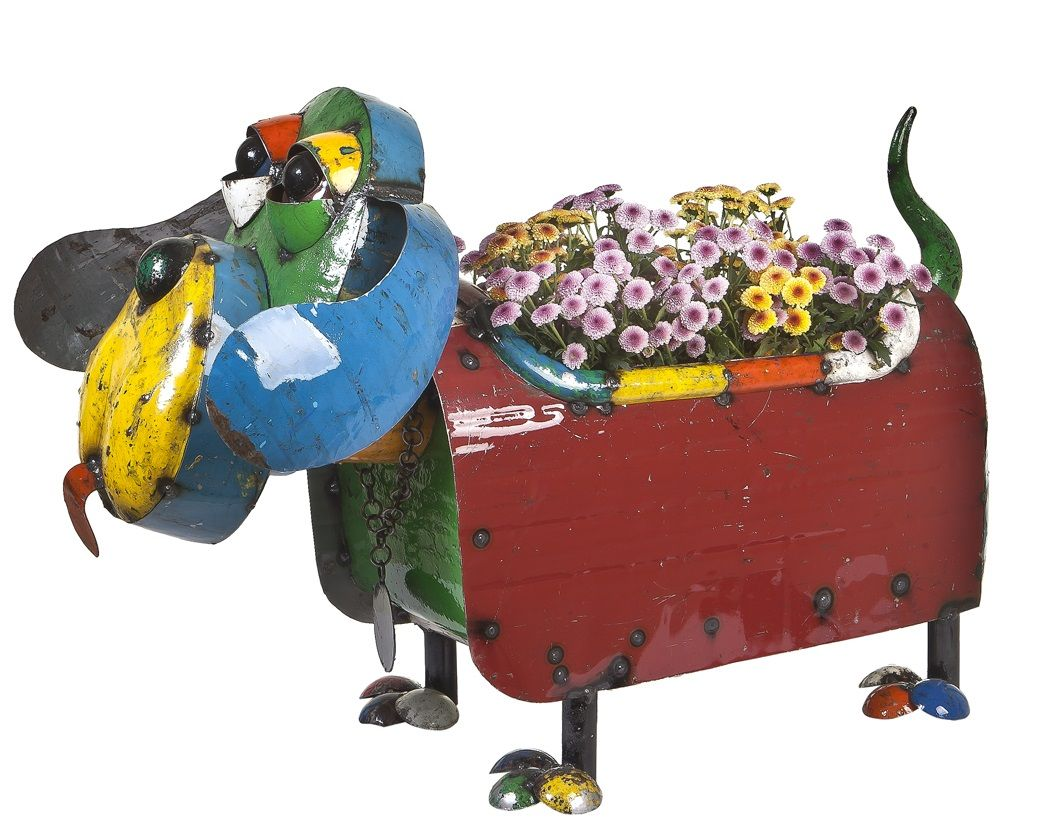 Metal Dog Planters Hound Dog Planter Gifts Pinterest Hound Dog And Planters