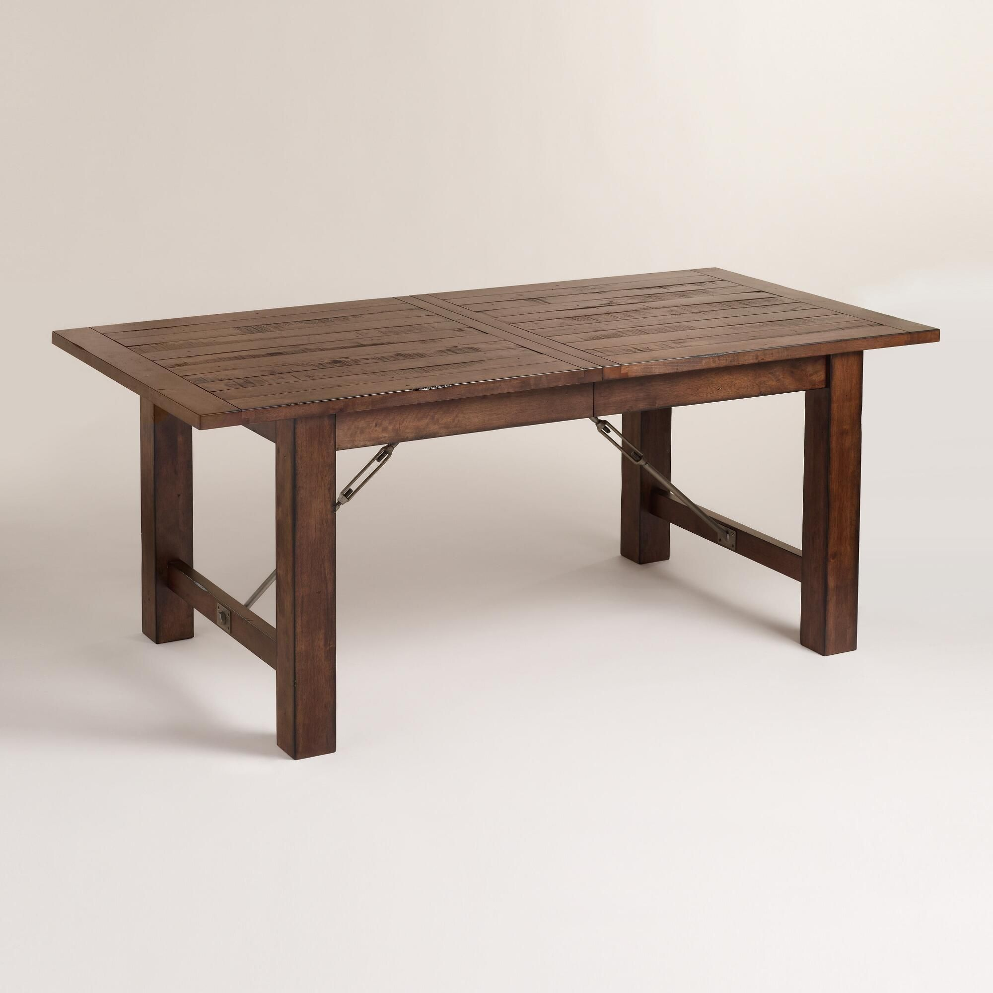 Extension Table Wood Garner Extension Dining Table Woods