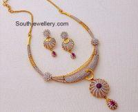 kalyan jewellers diamond necklace | v | Pinterest ...