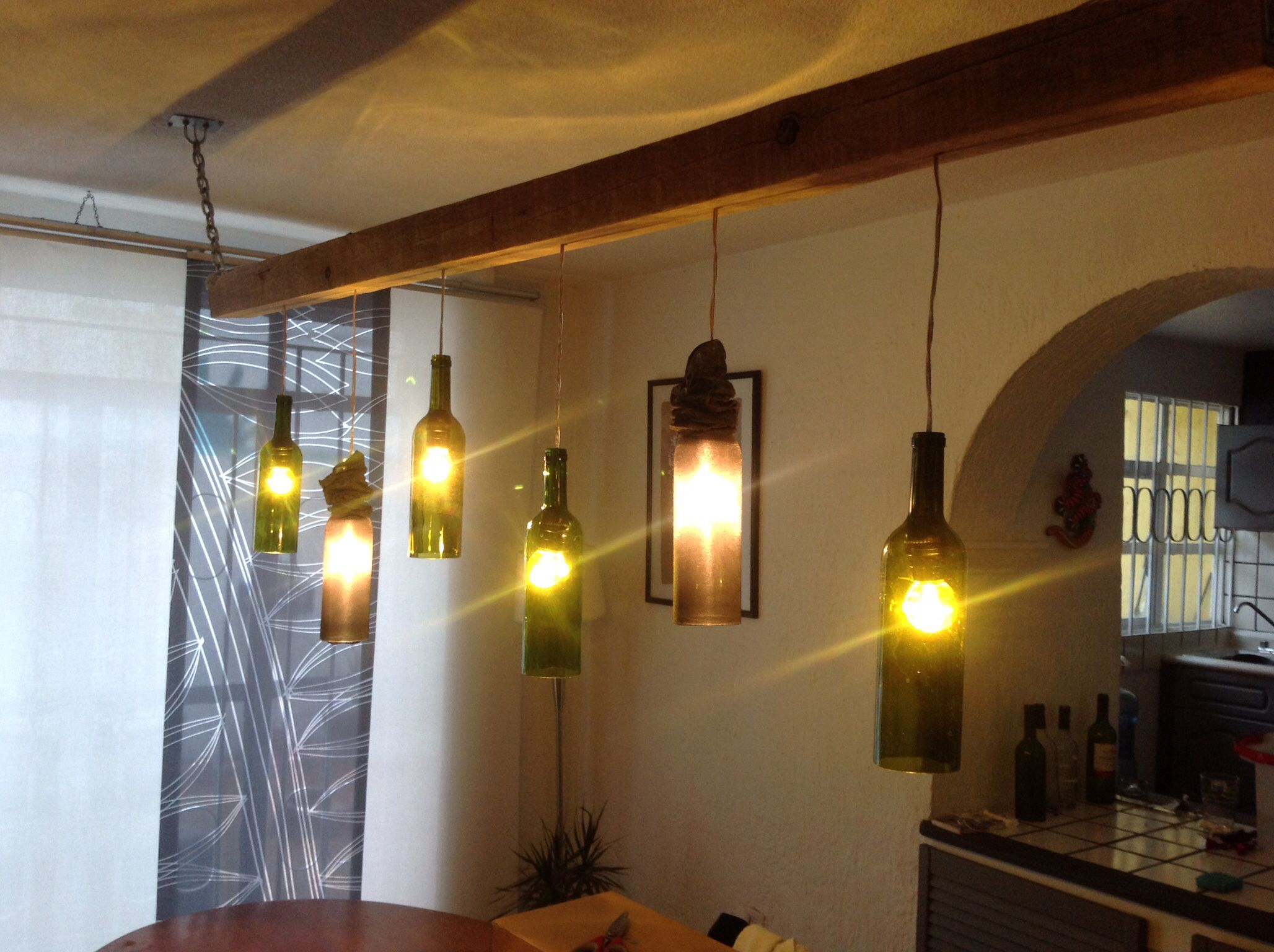 Do It Yourself Lampen Lampe Bouteilles De Vin Do It Yourself Pinterest