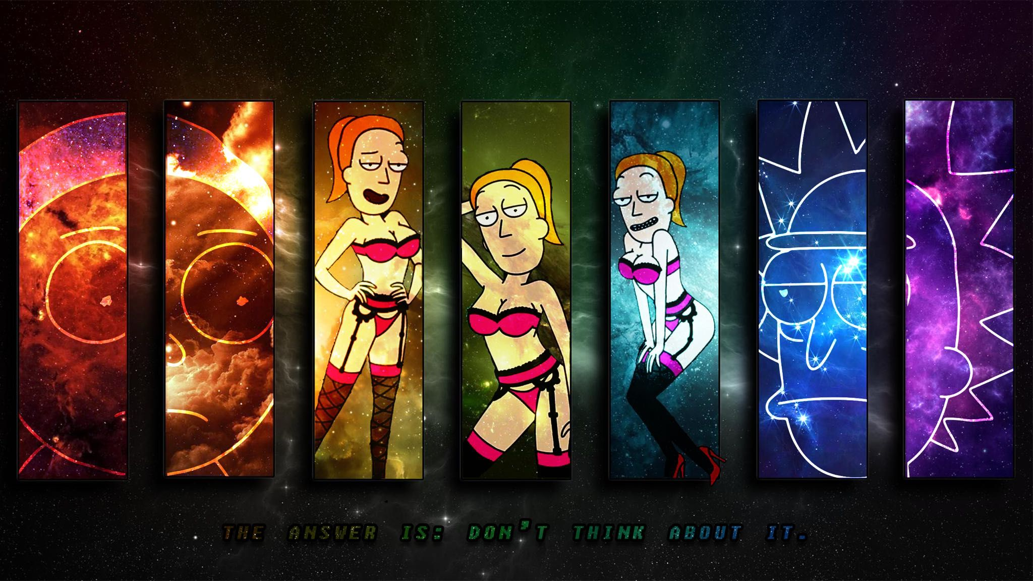 Gravity Falls Wallpaper Full Hd Rick And Morty Hd Wallpapers And Backgrounds 2048 215 1152