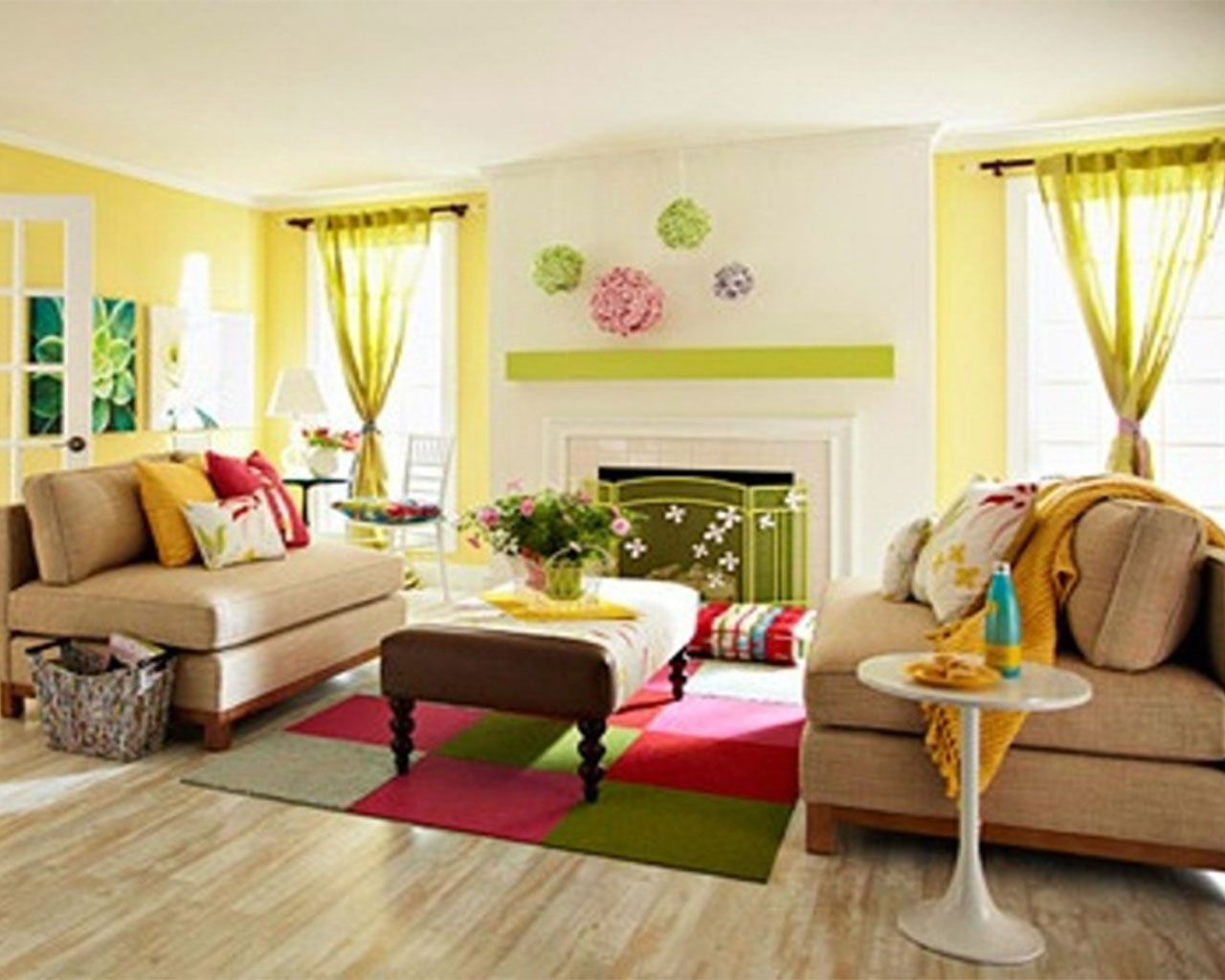 This is such a pretty living room colorful living room ideas for decorations