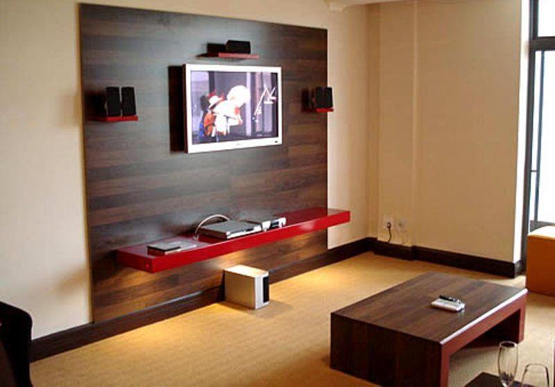 LCD Wood Wall Decorating Ideas Pallet Wall Pinterest Wood - wood wall living room