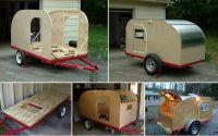 DIY Teardrop Camping Trailer - http://www.decorationarch ...