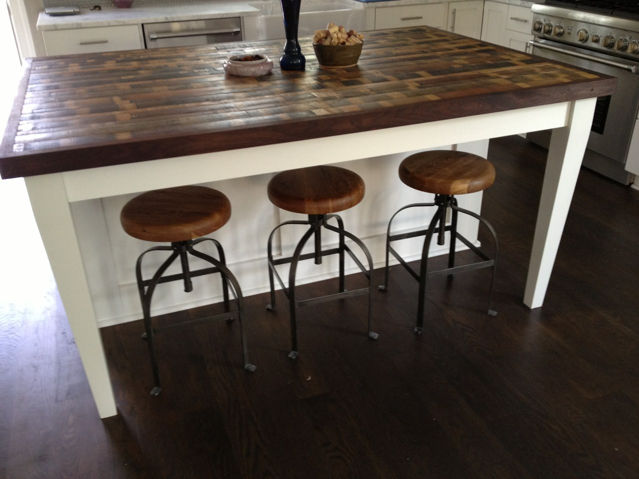 butcher block table tops kitchen island tables Attractive Kitchen Island Design Ideas