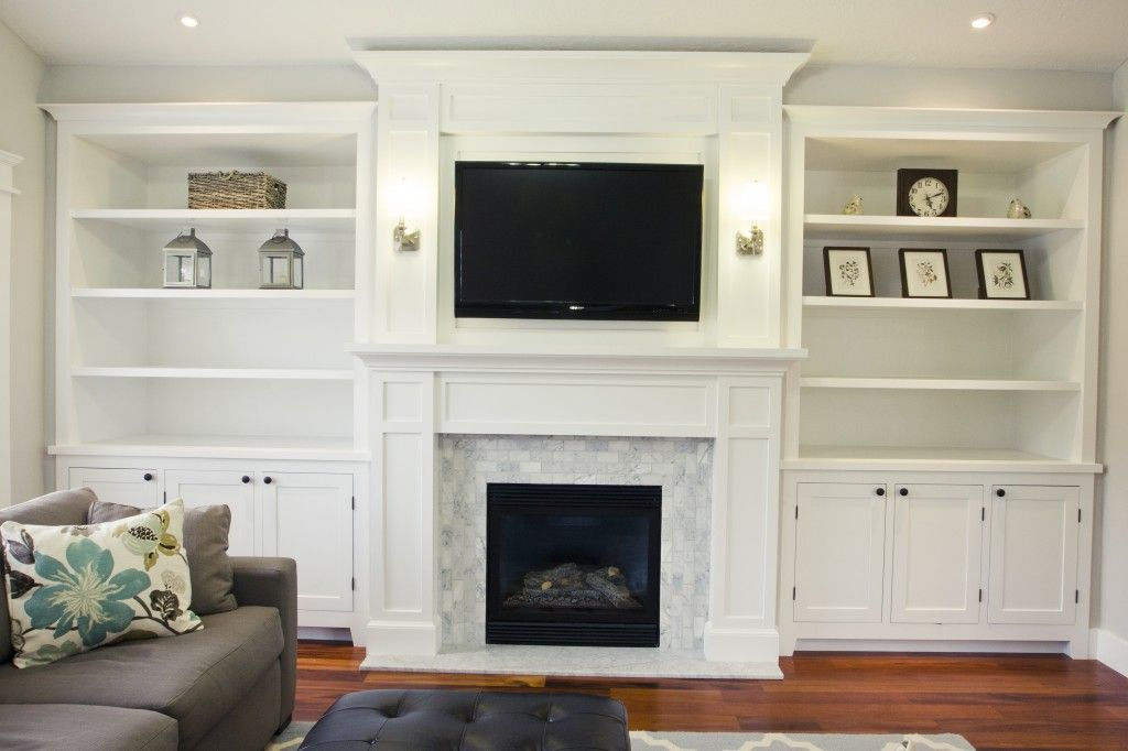 Built In Bookshelves Around Fireplace Fireplace Built Ins On Pinterest | Bookshelves Around