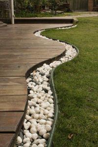 landscape design for long narrow yard | design ...