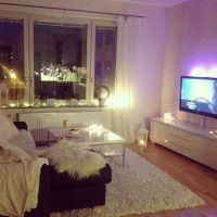 Girly modern living room area #tumblr | new room ideas ...