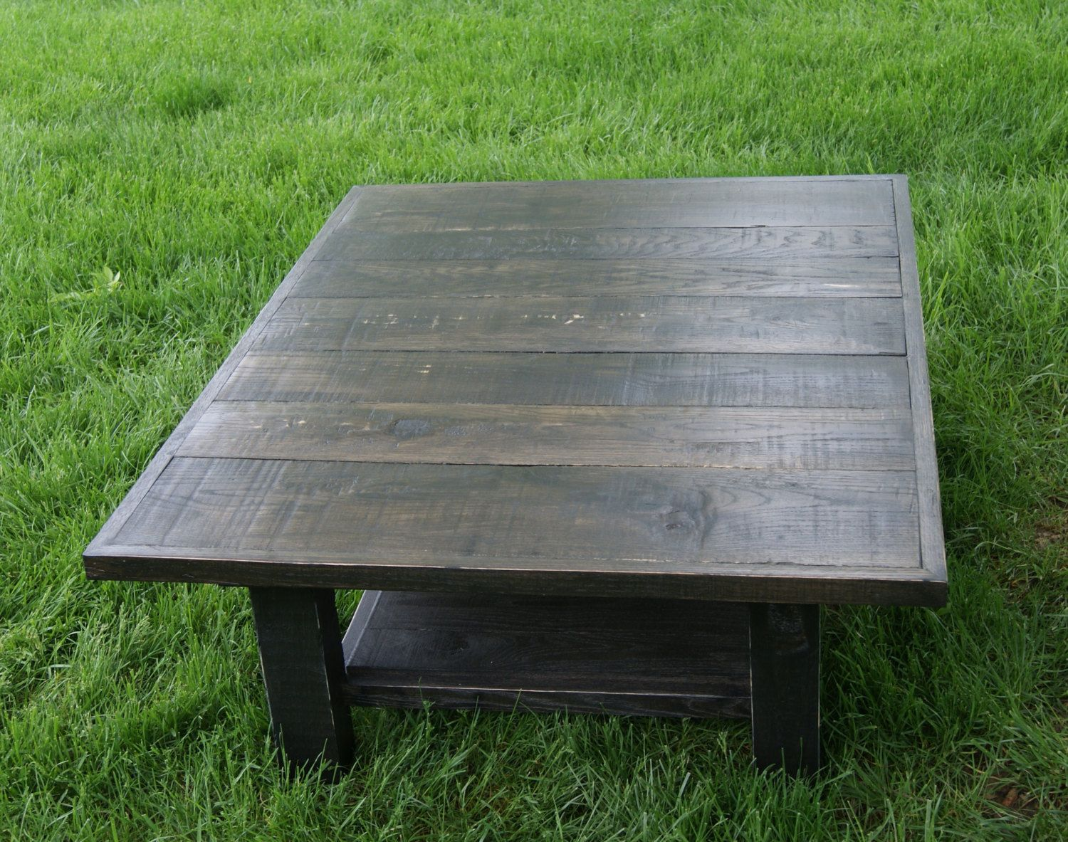 Wood Black Coffee Table Black Stain Wood Furniture Reclaimed Rustic Coffee Table