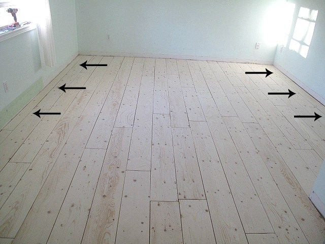 A Newbie39s Guide To Plywood Plank Flooring Http