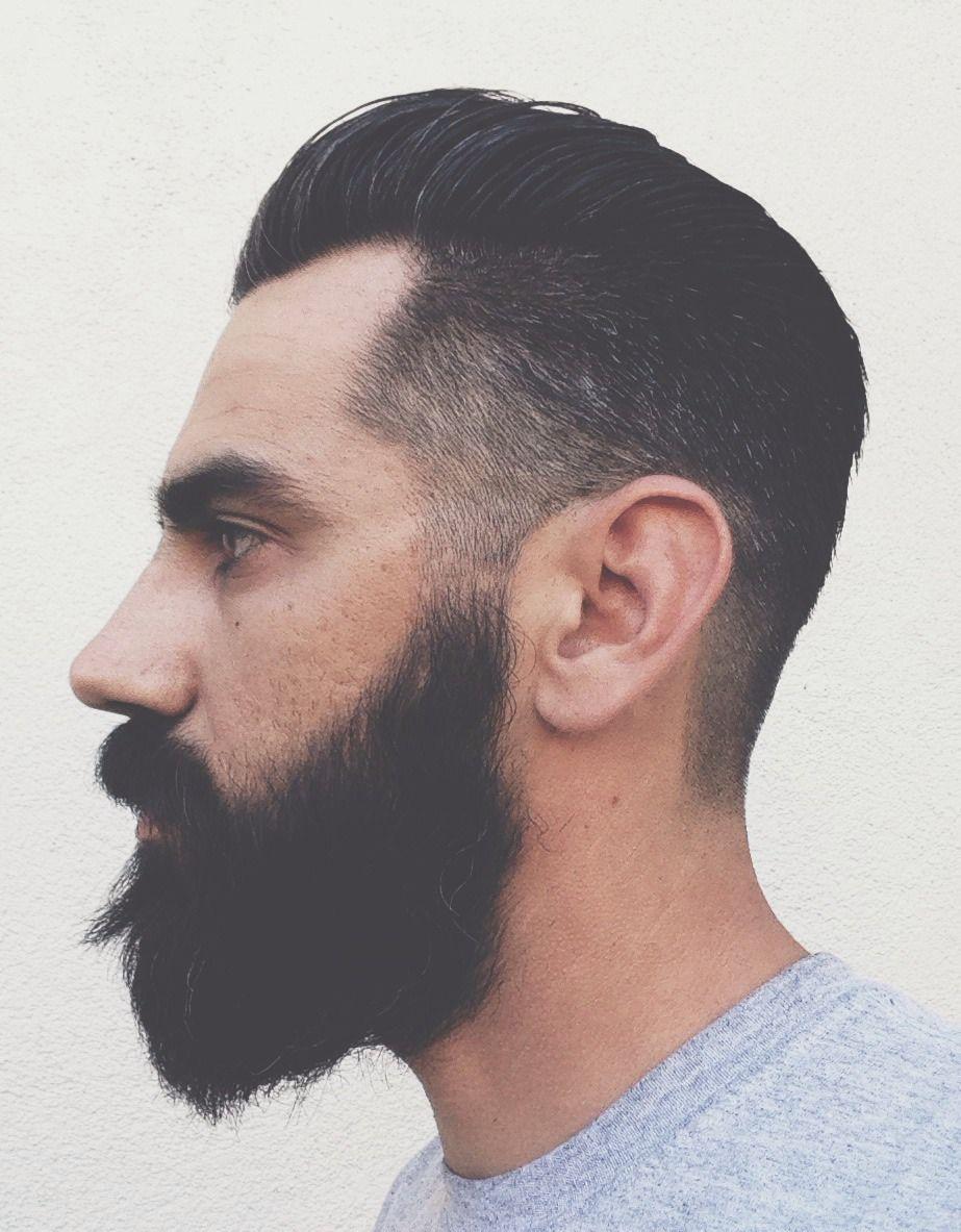 Pompadour fade beard men s hair haircuts fade haircuts short medium long