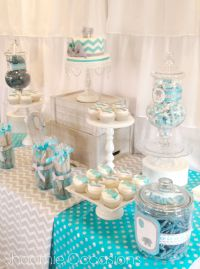 Elephant and Balloon Dessert Table www.facebook.com ...
