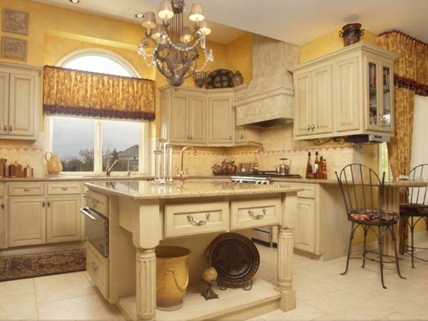 Country Style Kitchens Images Tuscany Kitchen Would Change Wall Color With