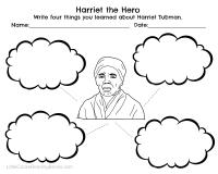 Harriet Tubman and Underground Railroad Free Printables ...