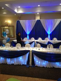 Navy Blue and White is a 2014 hot colour, this was a Sweet ...