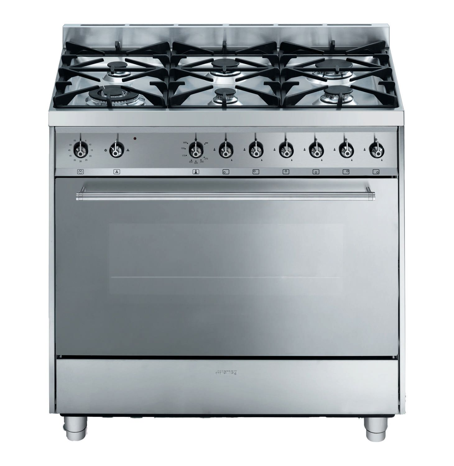Gas Stove Prices Smeg 900mm 6 Burner Gas Stove Lowest Prices And Specials