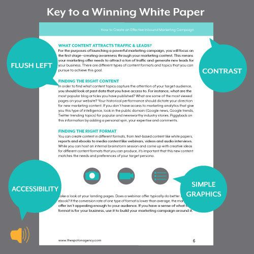 A white paper template helps you build content that applies - white paper template