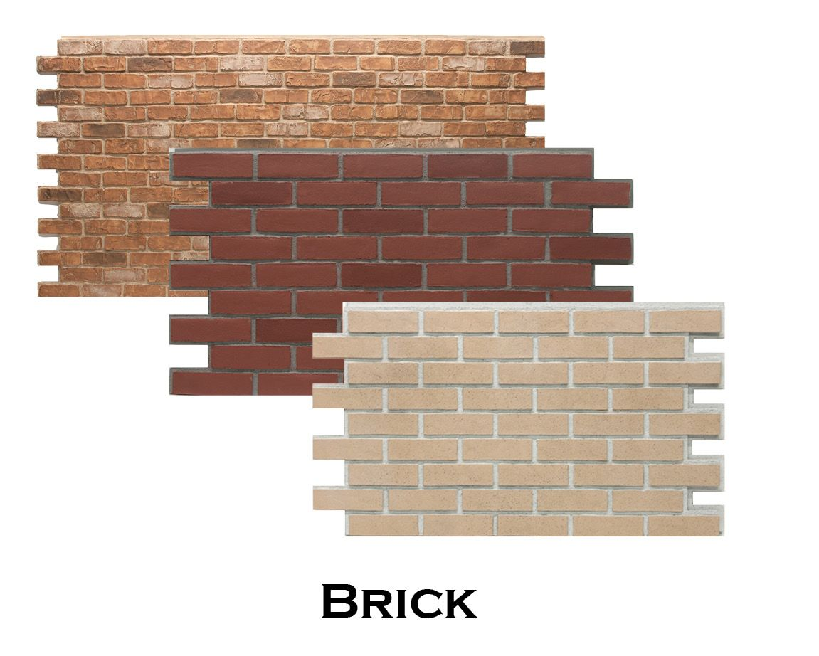 Interior Brick Wall Tiles 4x8ft Faux Brick Panels Perfect For Interior Or Exterior
