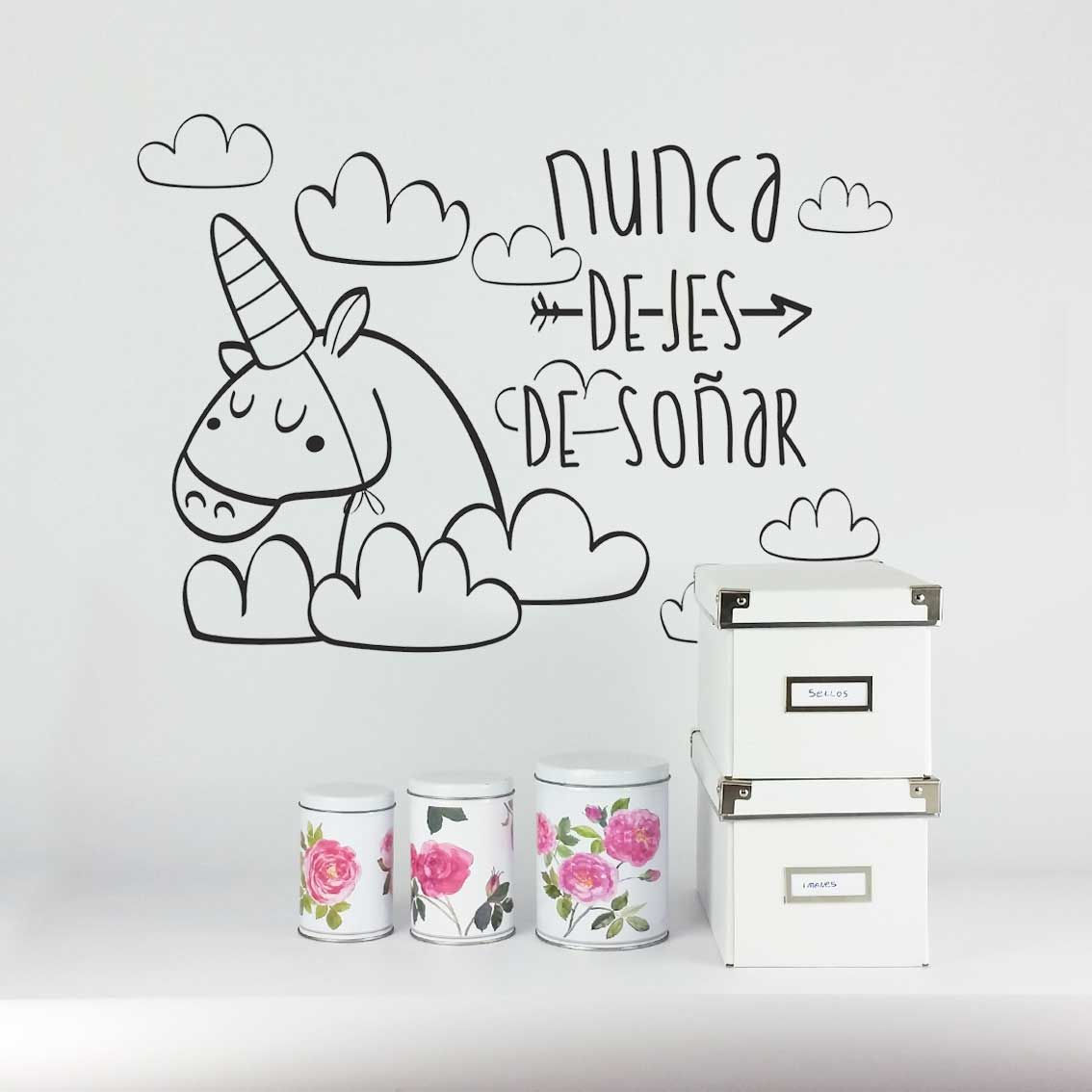 Decorar Pared Habitacion Infantil Vinilo Decoración Pared Pegatina Habitación Infantil