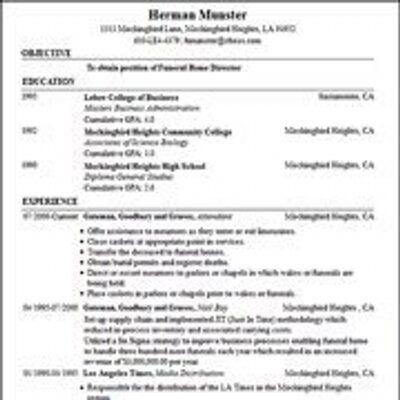 Resume Builder Free Resume Builder - http\/\/wwwresumecareerinfo - free resumes builder