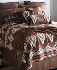 Pecos Trail Queen Comforter Bedding Set | Southwestern ...