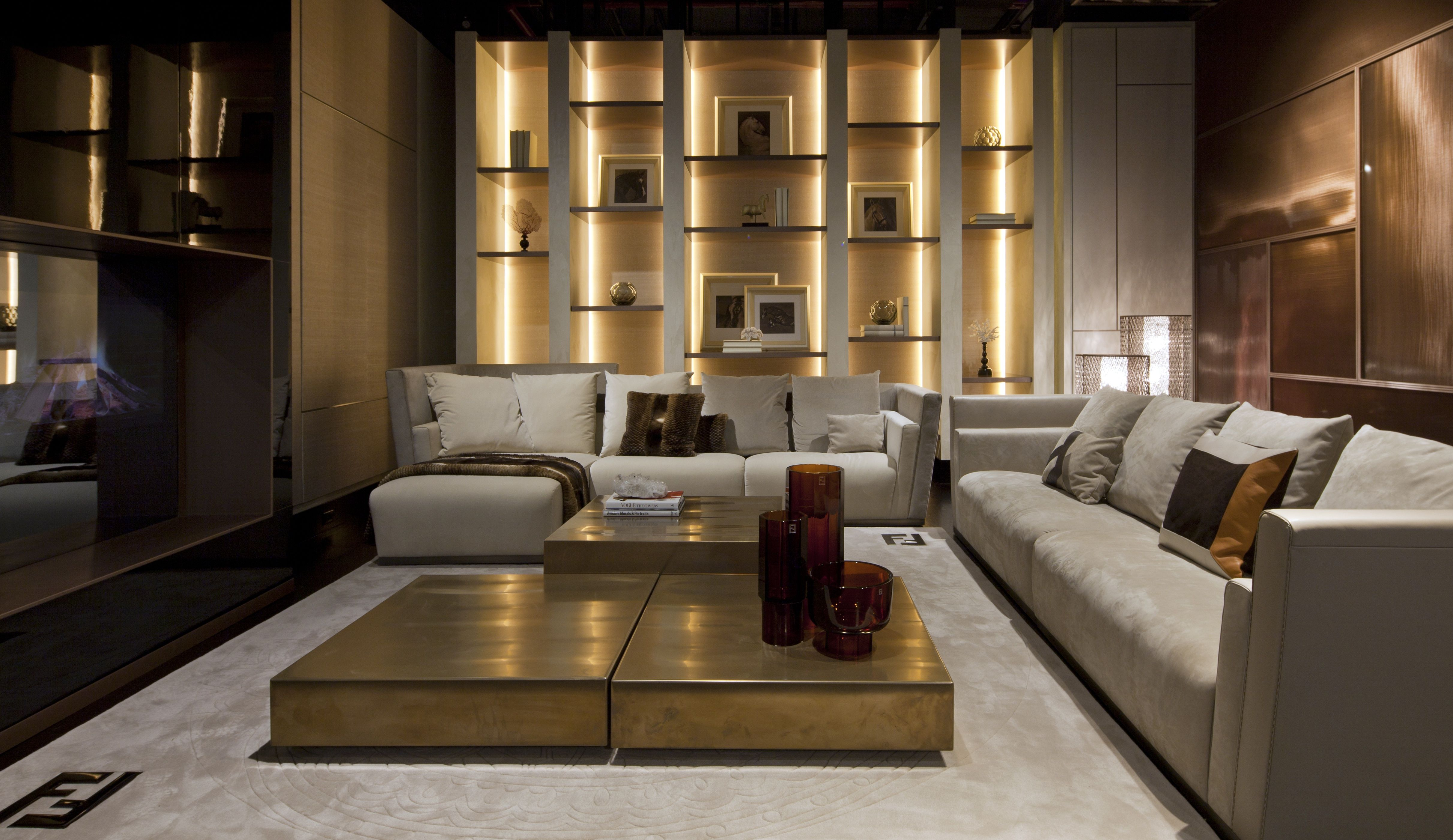 Interior Dec Fendi Style Living Room Furnitures Luxury Living Home To